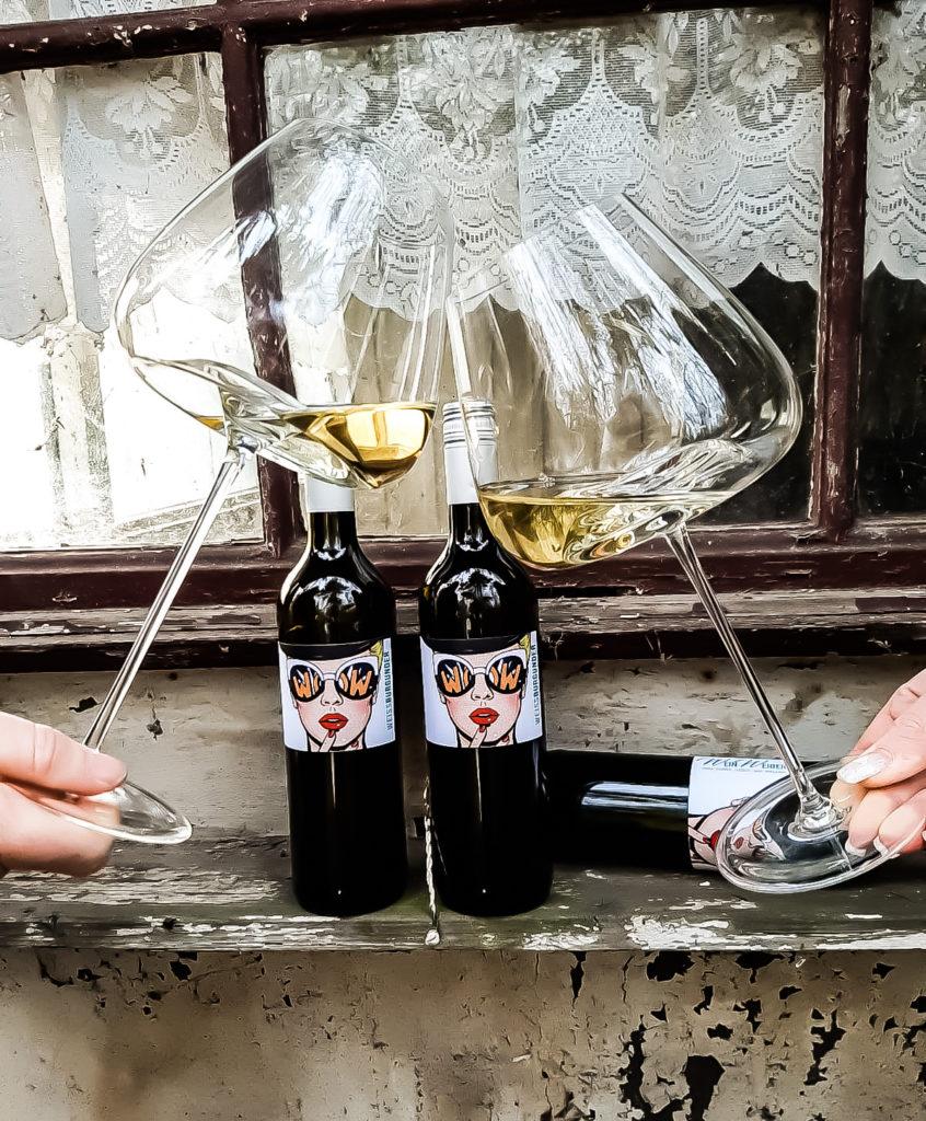 Weinweiber Wein Zieher Gläser